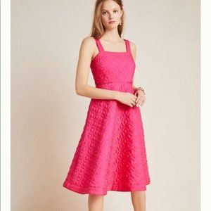 Anthropologie Maeve Tomasa Quilted Mini Dress 2P